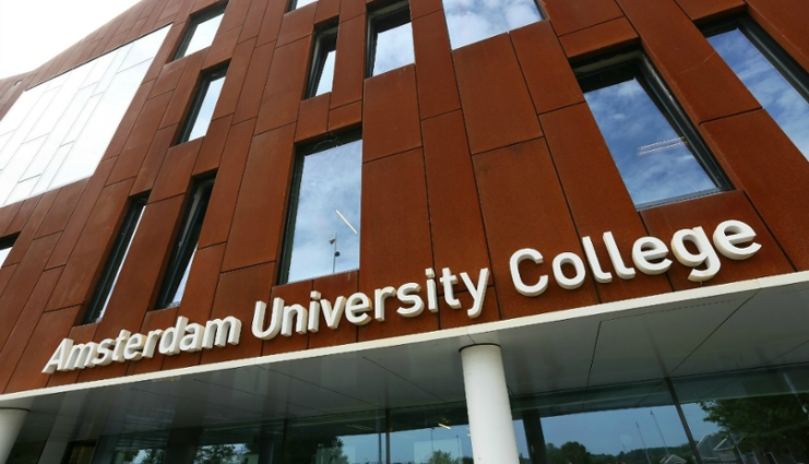 Amsterdam University College Building,Amsterdam University College English,English Bachelros Amsterdam,study in Amsterdam,Netherlands English study